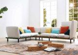 Sofá exclusivo de la tela de la combinación de la esquina moderna moderna para el mobiliario casero de la sala de estar del hotel