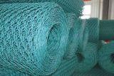 PVC緑の上塗を施してある電流を通された六角形の金網のAnping Yaqiの製造者