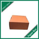 판지 상자 포장을 인쇄하는 주황색 색깔