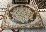 Tuile en céramique en cristal d'or de tapis pour la salle de séjour 1200X1200mm