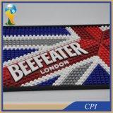 Couvre-tapis fait sur commande de bière de barre de PVC de logo de la qualité 3D de promotion
