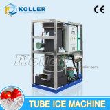 Máquina de hielo del tubo para el vehículo Fresco-Que guarda el hacer de 3tons/Day