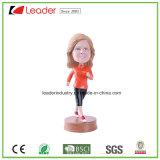 Hand Painted Resin OEM Bobblehead Figurine para decoração de casa e presentes de lembrança