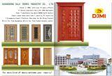 Porte en bois en acier de modèle simple dans le prix concurrentiel