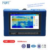 Équipements de campagne anti-parasitage superbes de géologie de détecteur d'eau de la résistivité Pqwt-Tc500