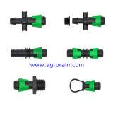 Einfache Gebrauch-Tropfenfänger-Band-Widerhaken-Sicherungsring-Kupplung für PET Rohr Dn17X16