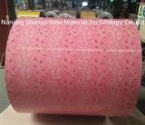 914m m con venta caliente impresa flor del Zn 40g de la bobina de PPGI en la India