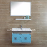 Vanità 085 della stanza da bagno dell'acciaio inossidabile di disegno semplice