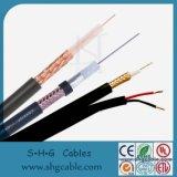 Cable coaxial estándar del cable 5c-2V de JIS
