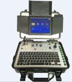Diámetro de 11 mm de fibra de vidrio empuje barra de cable de drenaje Pan Tilt rotación cámara de inspección para la inspección de tuberías