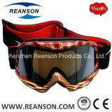 Lunettes antibrouillard de ski de lentilles de double de la jeunesse de Reanson