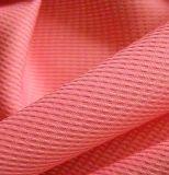 100% poliéster Pearl Point jacquard pongee tela para trajes
