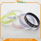 Kundenspezifischer GummisilikonWristband mit Firmenzeichen
