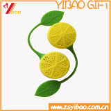 Подарок Infuser чая силикона логоса высокого качества изготовленный на заказ (XY-HR-92)