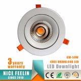 工場価格40Wの高い発電LEDの点の天井Downlight