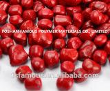 Хорошая пластиковая маточная штукатурка Red Masterbatch для ABS / PP / PE / Pet