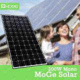 Оптовая цена панели солнечных батарей 200W Китая высокой эффективности Mono