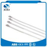Clips de cable estabilizados calor de la hebilla del metal de las ataduras de cables