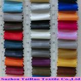 Satin 100% superbe de polyester de robe de qualité de fournisseur de la Chine pour le tissu de vêtement