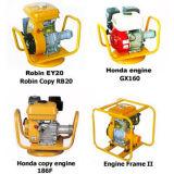 Бензиновый двигатель 2017 Robin и вал конкретной вибромашины для светлого машинного оборудования конструкции