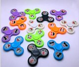 Het lichtgevende Plastic Speelgoed van de Kinderen van de Gyroscoop van Vingertoppen