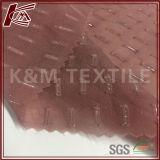 Tela de algodón de seda grabada material del paño con oro hecho girar