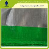 folha plástica azul de Tarpaulin& do HDPE plástico da folha 190GSM