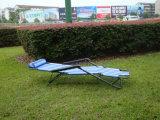 옥외 여가 Foldable Textilene 로비 비치용 의자