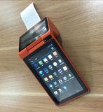 Posição Handheld sem fio do Android de 7 polegadas com impressora