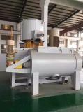 Máquina plástica horizontal caliente y fría del PVC del SGS