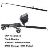 1080P HD con il sistema della macchina fotografica DVR di controllo del veicolo (5mega video di pollice del palo camera+7 della rotella camera+flexible)