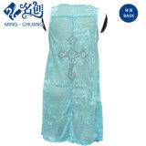 신식 관점 파란 지퍼 섹시한 형식 숙녀 복장