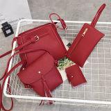 Sacchetti stabiliti di vendita caldi della signora spalla della borsa della benna con il sacchetto della moneta e le nappe Sy8249