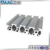 L'extrusion en aluminium a expulsé fente du profil T des 6063 Manche