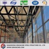 Prédio de escritórios leve do aço estrutural de Prefabrictaed da qualidade de China