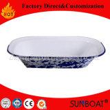 Utensílios de mesa do prato de manteiga da placa de /Fruit do alimento do esmalte