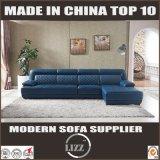 Disegno italiano L sofà dello strato moderno del cuoio di figura