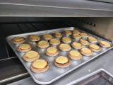Horno de gas de lujo popular del equipo 2-Deck 2-Tray de la panadería para la venta