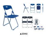 Einfacher preiswerter Falz-Stuhl für Studie mit Schreibens-Vorstand