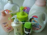 Máquina de etiquetado detergente de las botellas de la loción del champú