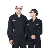 Baumwollfertigen selbstarbeiter-Uniform 100% mit kundenspezifisch an