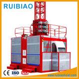 Ascenseur de construction de crémaillère et de pignon