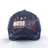Applique Print and Borded Cotton Leisure Baseball Cap