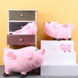 Juguete relleno color de rosa de la felpa del cerdo