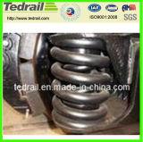 Molla del treno di compressione con materiale d'acciaio