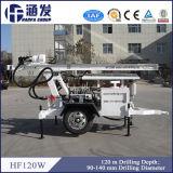 Foreuse de Hf120W DTH fonctionnant avec le compresseur d'air, efficace élevé