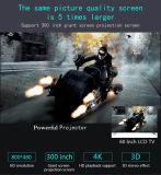 Proiettore pieno del teatro domestico del VGA HD 1080P del USB del micro video portatile HDMI del proiettore 1800lumens di Pico