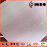 El panel compuesto de aluminio de madera de Ideabond con el buen precio y la mejor calidad (AE-304)