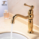 Faucet magnífico intemporal luxuoso antigo do misturador da bacia Zf-M18 do estilo de vida