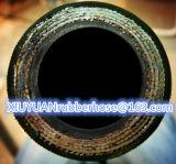 De spiraalvormige Slang van de Olie van de Hoge druk Flexibele Hydraulische Rubber met En856-4sh